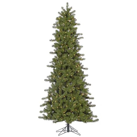 7 5 foot artificial slim ontario christmas tree clear all