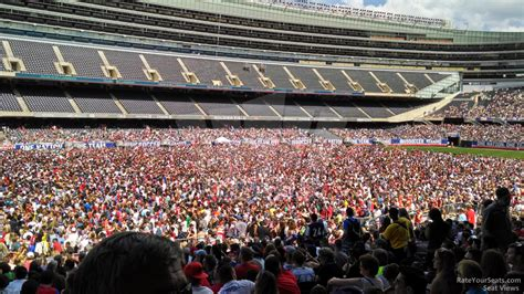 it section 143 1 soldier field section 143 concert seating rateyourseats com