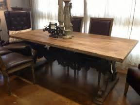 Rustic Dining Room Tables by Rustic Oval Marble Top Trestle Table Pictures To Pin On