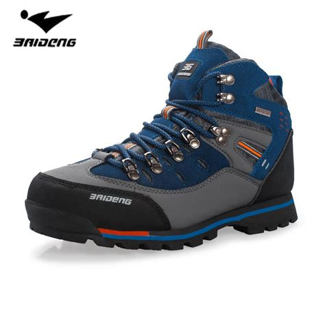 high top climbing shoes waterproof hiking boots high top cing mountain