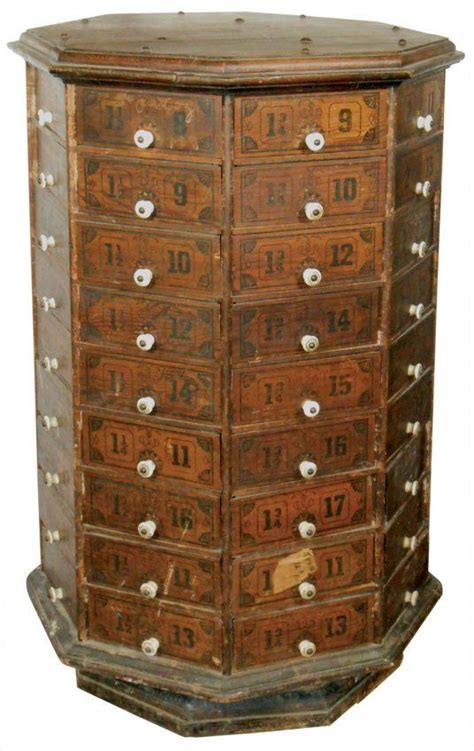 nut and bolt storage cabinets country nut bolt cabinet octagonal 72 pie shap