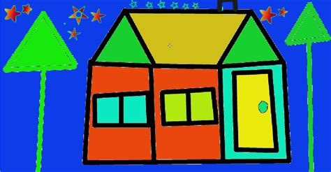 shape house alex c glenbrae school my digital art house