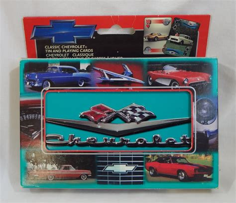 Gift Card Collectors - classic chevrolet playing cards limited and 50 similar items