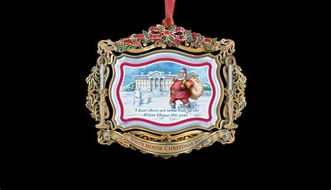 white house christmas ornament 2011 white house