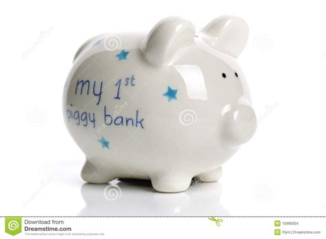 bank baby piggy bank baby gift stock images image 15989304