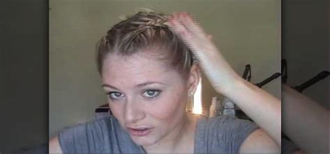 how to french braid your own bangs the easy way how to french braid your own bangs inside out and normal