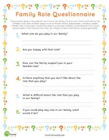 worksheets family roles worksheet chicochino worksheets