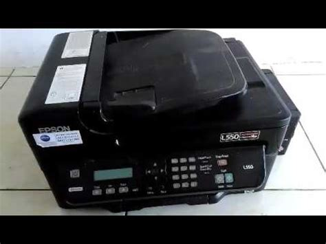 Dan Spesifikasi Printer Epson L550 All In One cara mengganti dan kabel printer epson l550