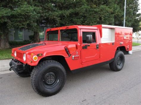 auto air conditioning service 1993 hummer h1 navigation system buy used 1995 hummer h1 fire rescue truck one owner in sacramento california united states
