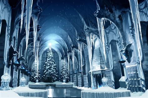Hogwarts Wall Mural crafting the yule ball pottermore