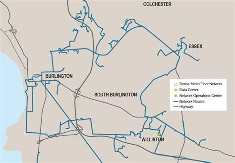 burlington map vermont firstlight fiber