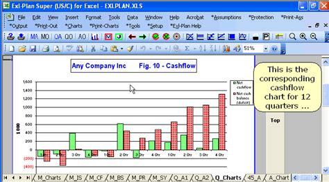 output business plan software template financial