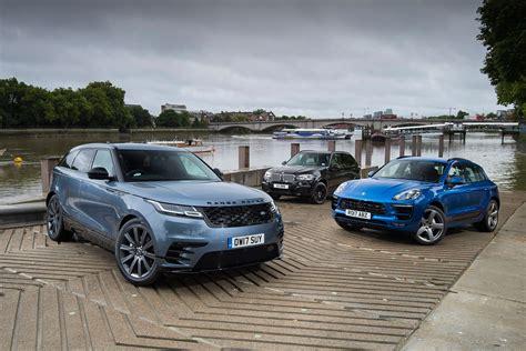 range rover velar vs sport range rover velar vs porsche macan vs bmw x5 auto express