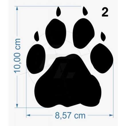 Wolfskin Aufkleber by Sticker Wolfskin Paw Print With Claws