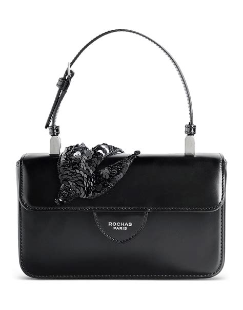 Small Leather by Rochas Small Leather Bag In Black Lyst
