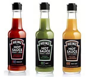 heinz hot sauce range hot sauce pinterest