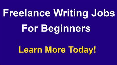 freelance writing jobs for beginners online jobs for