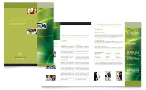 Internet Marketing Brochure Template Word Publisher Marketing Flyer Templates Microsoft Word