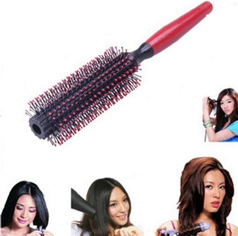 Sisir Roll hair comb roll stick sisir ganggang merah