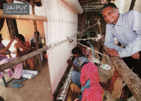 nand kishore chaudhary jaipur rugs the with a mission to put smiles on indian weavers faces by giving them livelihood