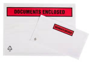 Documents Enclosed Wallets A4