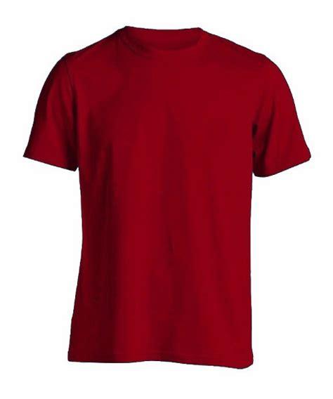 kaos polos warna merah maroon jual kaos polos merah maroon m premium cotton combed 20s