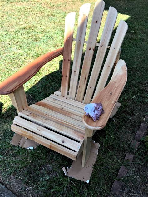 how to stain adirondack chairs staining tips for adirondack chairs and new planters the