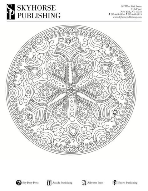 94 Mandala Coloring Pages Jumbo Book