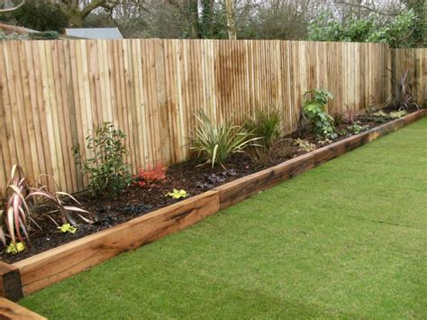 beds and borders wooden sleepers garden edging google search fun woodworking pinterest sleepers garden