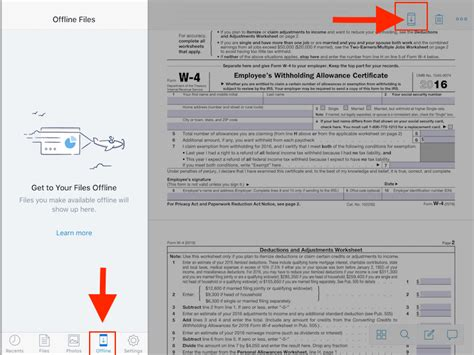 dropbox offline paperless on the ipad sign annotate pdf in mail