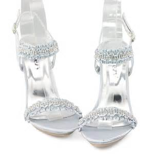 Sepatu High Heels Shoes Import Silver evening high heels silver dress sandal shoes elastic stilettos ebay