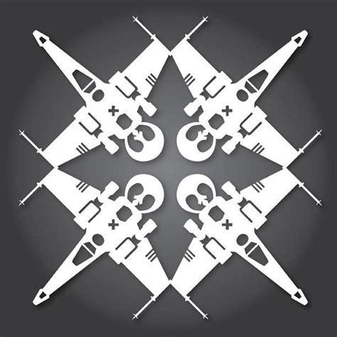 wars snowflake templates 51 free paper snowflake templates wars style