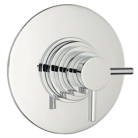 Shower Faucet Trim Plate by Chrome Concealed Thermostatic Shower Faucet Valve Dual Trim Plate Ebay