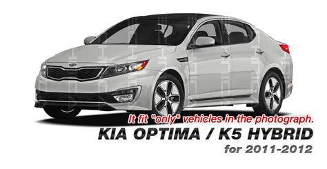 2011 Kia Optima Upgrades Oem Parts Front Difflector Lower Bumper Lip For Kia 11 13