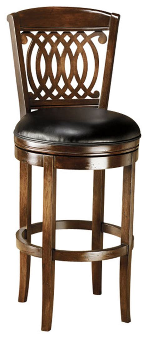 hillsdale vienna swivel 24 inch counter height stool