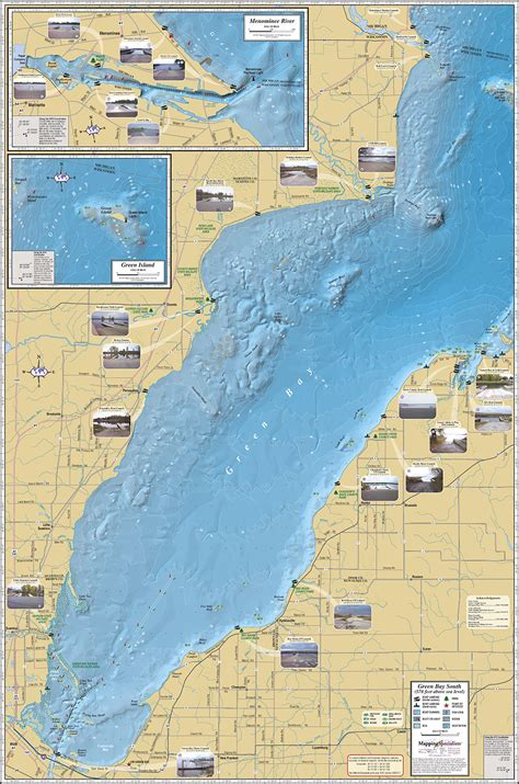 green bay south fold map