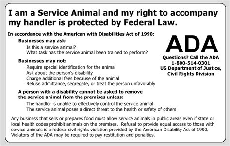 ada service laws esa badge ada regulations service ids