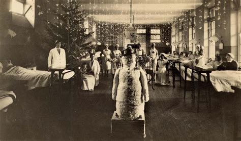 christmas themes for hospital wards bruntsfield hospital ward at christmas 1931