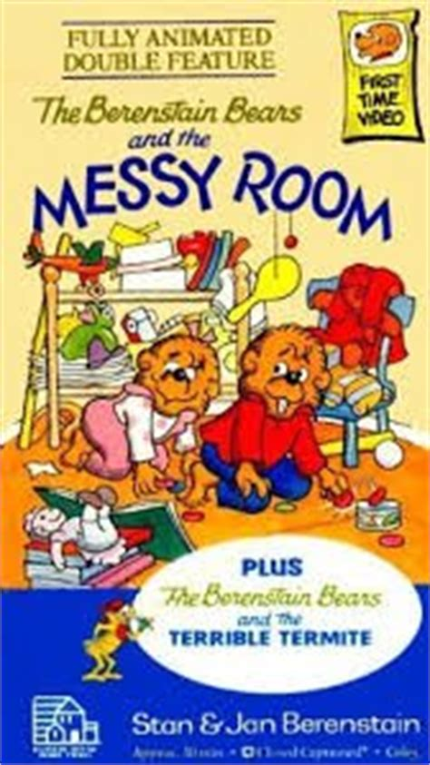 berenstain bears room the berenstain bears and the room vhs jan berenstain stan berenstain