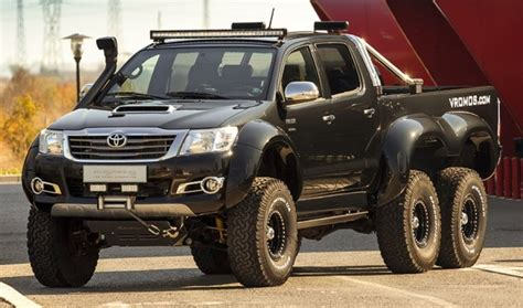 Toyota Hilux 6x6 by Vromos   affordable G63 AMG 6x6
