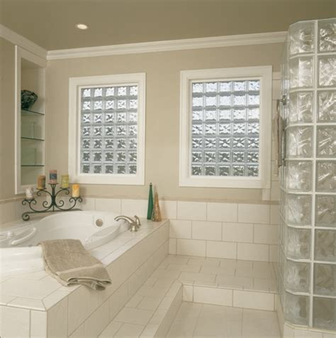 bathroom window glass privacy seattle glass block prefabricated vinyl frame glass