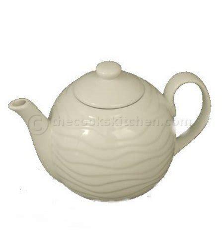 Rumauma Ceramic Tea Pot Set Wave Pattern wave tea pot
