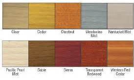 thompson water seal colors thompson water seal stain colors mkrs info