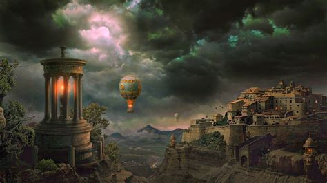 fantasy desktop wallpapers top world pic fantasy worlds wallpaper wallpapersafari