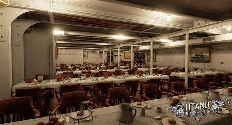 titanic third class dining room titanic honor and a