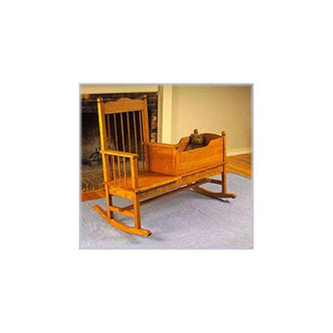 Rocking Chair Crib Combo by Woodworking Project Paper Plan To Build Rocking Chair