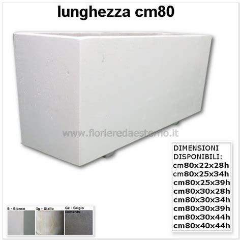 vasi cemento fioriere in cemento cm80 fioriere da esterno vasi