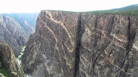 painted wall black canyon painted wall at black canyon of the gunnison youtube