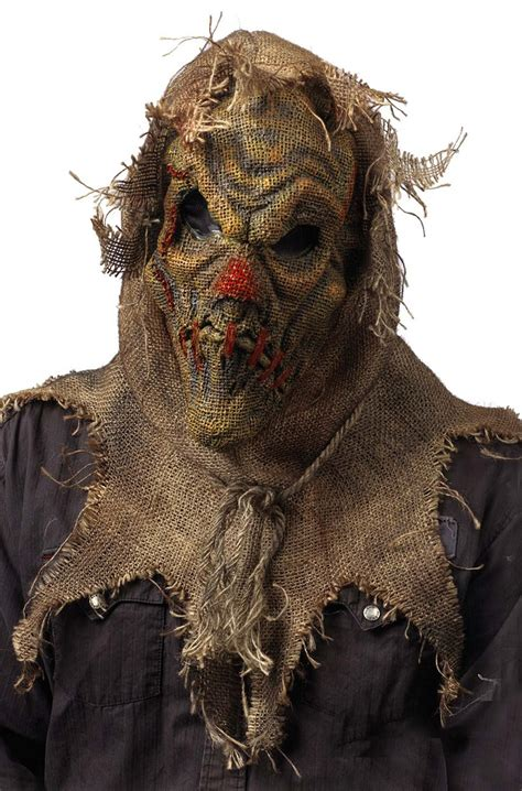 evil scarecrow mask purecostumescom