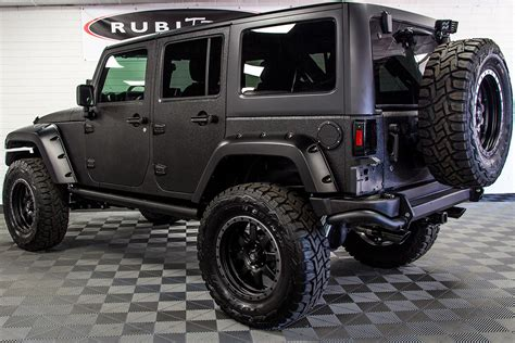 jeep black 2017 jeep wrangler rubicon unlimited black line x